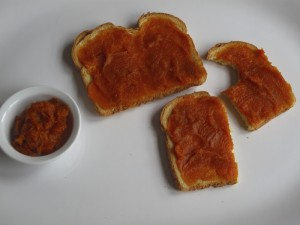 Sweet Potato Butter on Toast